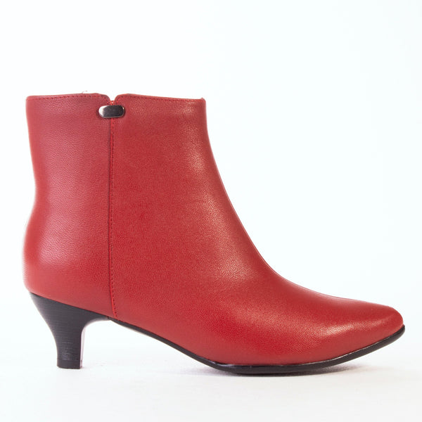 Pointed Toe Ankle Boot - 11749 - Froggie Shoes