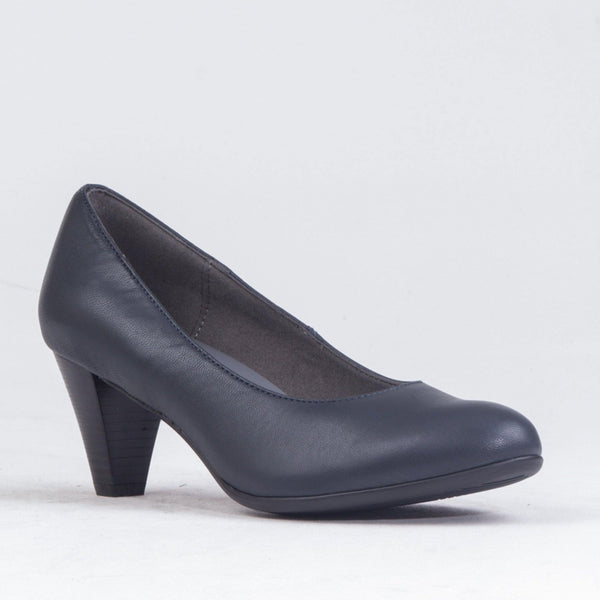 Heel Court Shoes - 12045 - Froggie Shoes