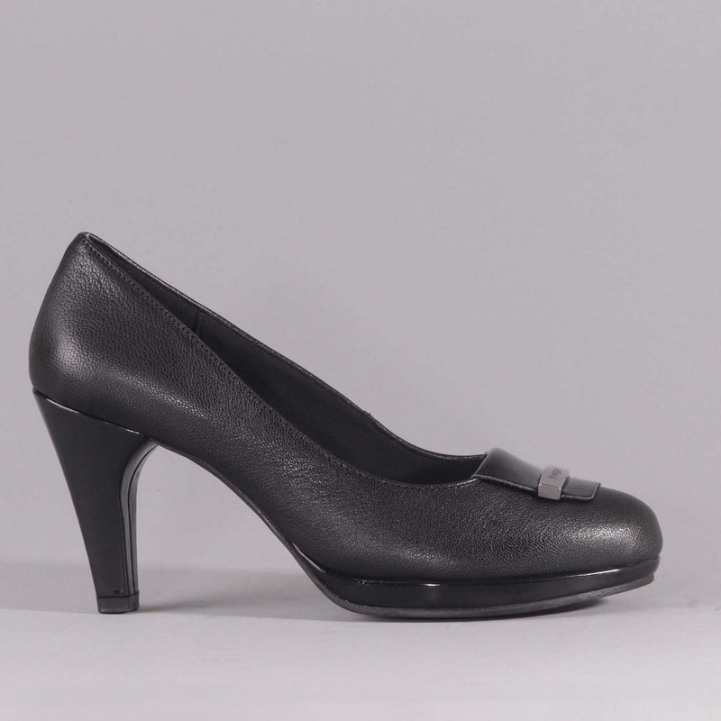 High Heel Court Shoes - 12055 - Froggie Shoes