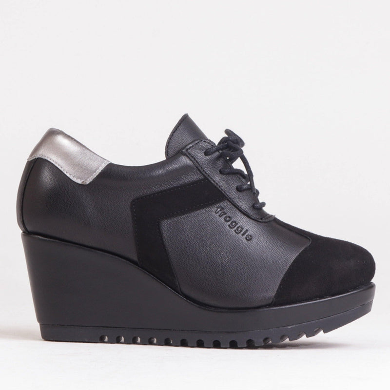 Sporty Wedge Takkie - 12253 - Froggie Shoes