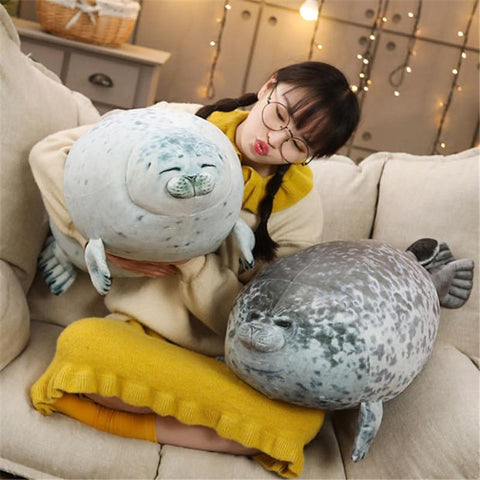 Cute Chubby Seal Pillow