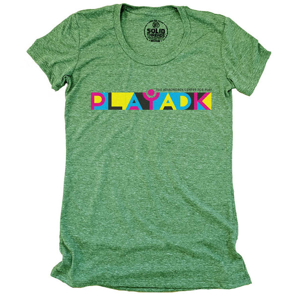 Women's Play ADK Banner Logo T-shirt