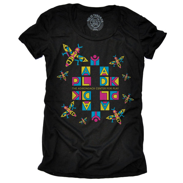 Women's Play ADK Bee Hive T-shirt