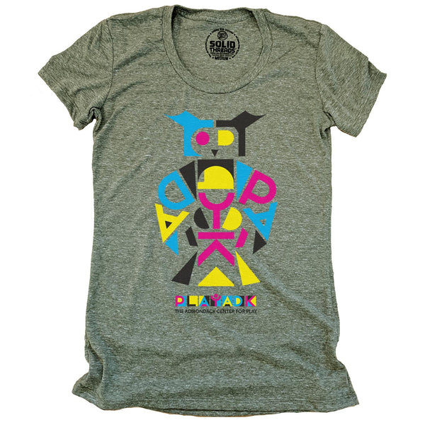 Women's Play ADK Owl T-shirt
