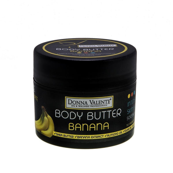 Donna Valente Body Butter karite Shea Butter & Banana Extract - 250ml