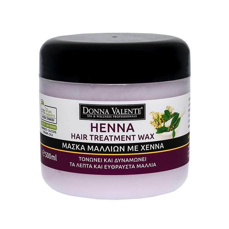 Donna Valente Henna Hair Treatment Wax - 500ml