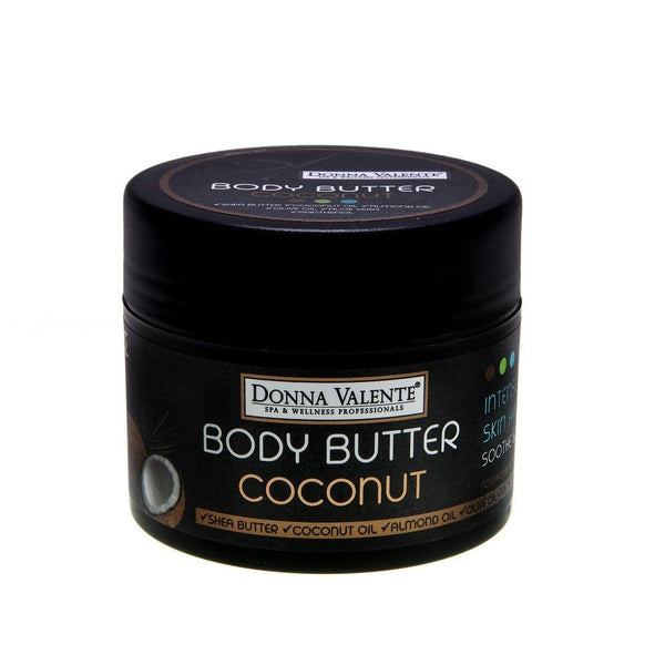 Donna Valente Body Butter karite shea butter & coconut oil - 250ml