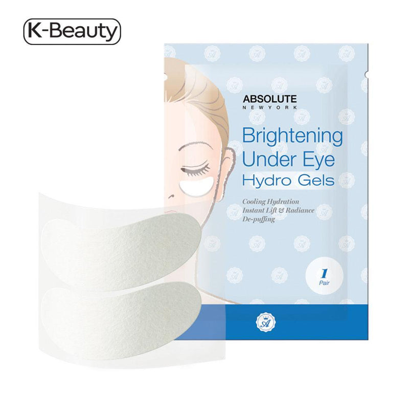 Absolute New York Brightening Under Eye Hydro Gels - 1 Pair, 1.6 oz / 45.36 g