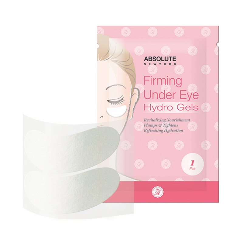 Absolute New York Firming Under Eye Hydro Gels - 1 Pair, 1.6 oz / 45.36 g