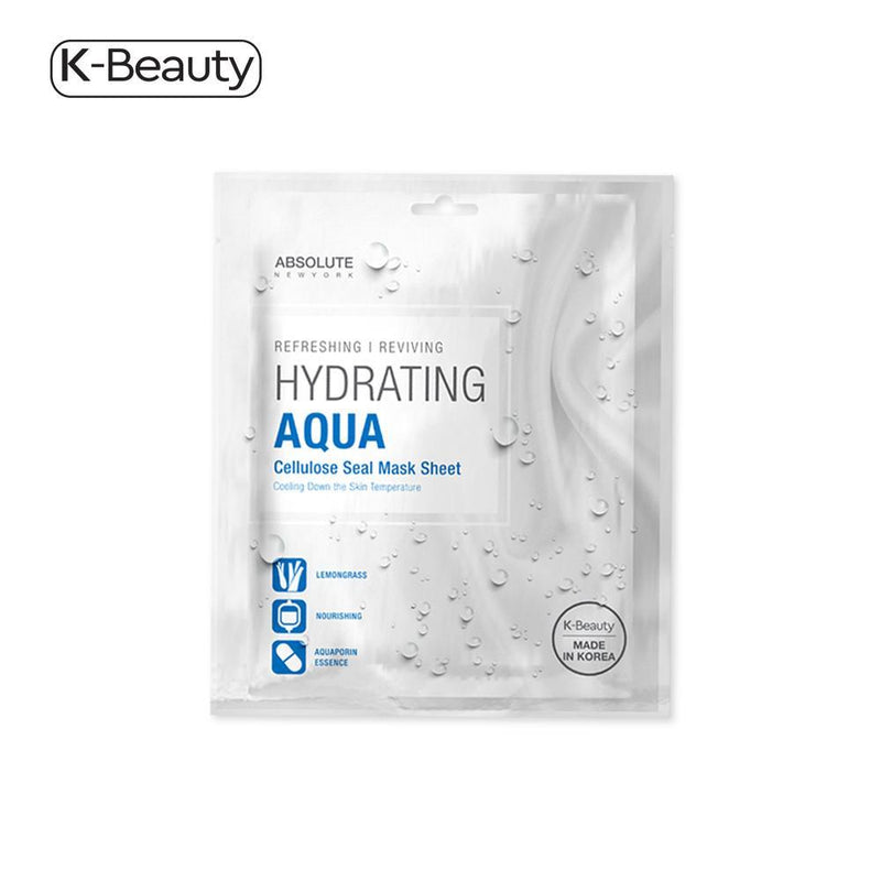 Absolute New York Aqua Hydrating Mask - 1 Pair, 0.1 oz / 2.83 g