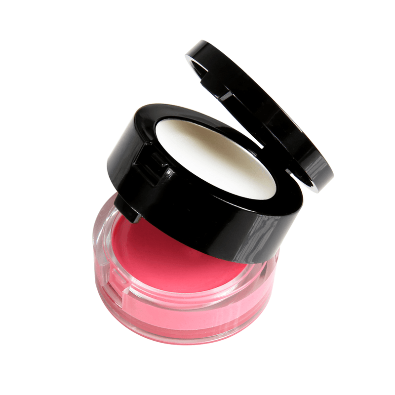 2-in-1 Lip Spa pink sugar lip scrub and translucent lip balm with a mirror. For a hydrated, plush pout!