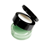 2-in-1 Lip Spa minty green sugar lip scrub and translucent lip balm with a mirror. For a hydrated, plush pout!