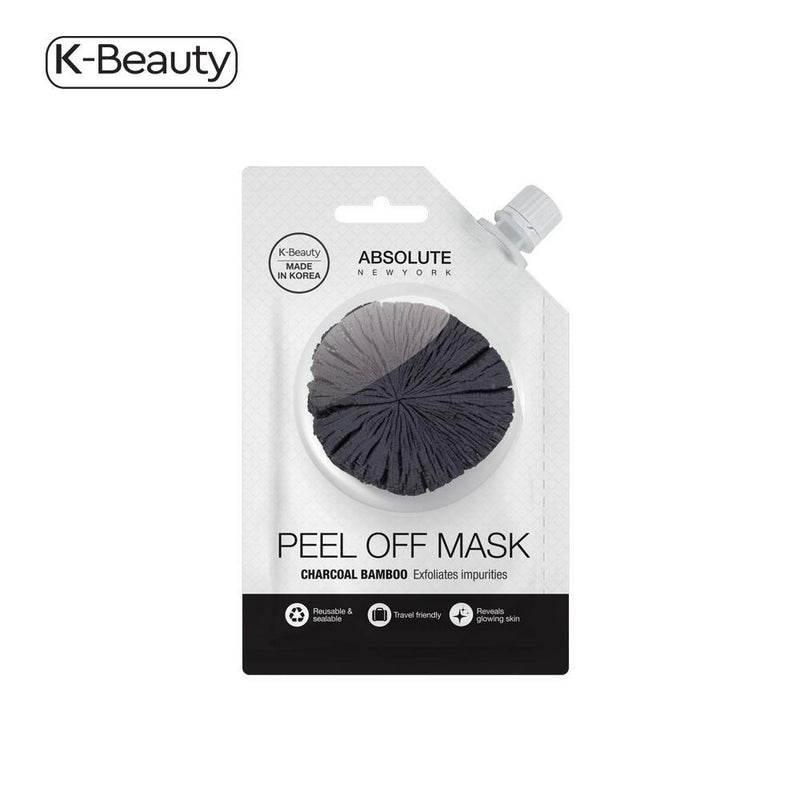 Absolute New York Charcoal Peel-Off Spout Mask - 1 Pair, 0.882 fl. oz / 26.08 mL