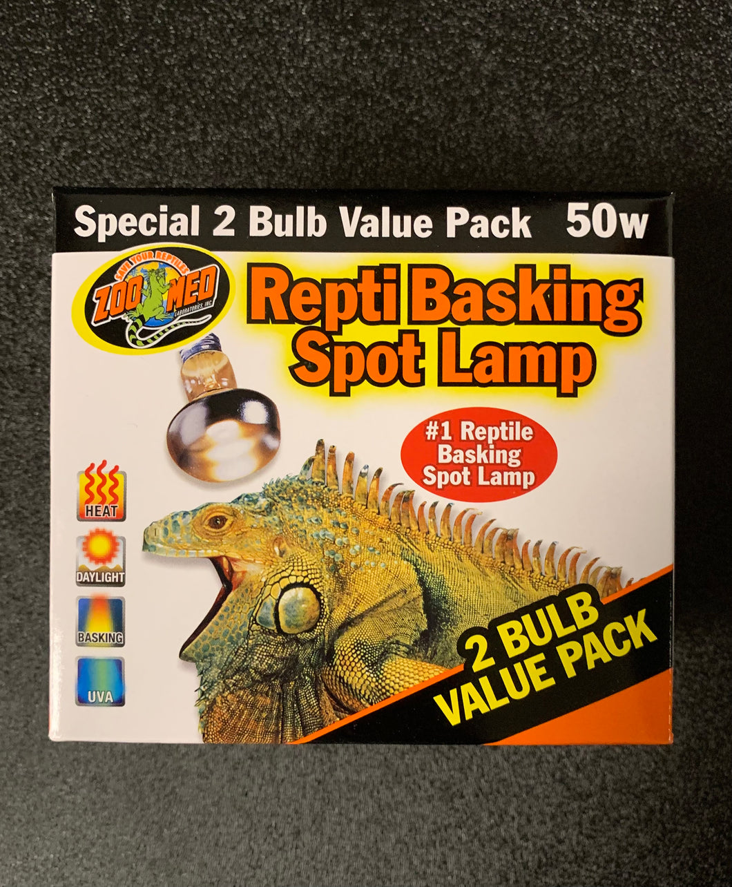 ZM Repti Basking Spot Lamp Value Pack 50W