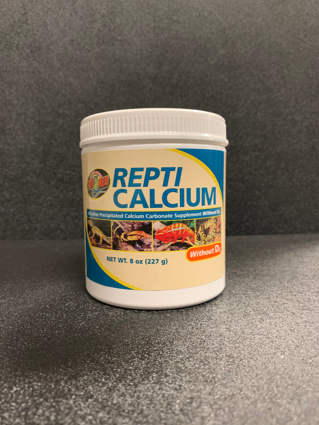 ZM Repti Calcium Without D3 8oz