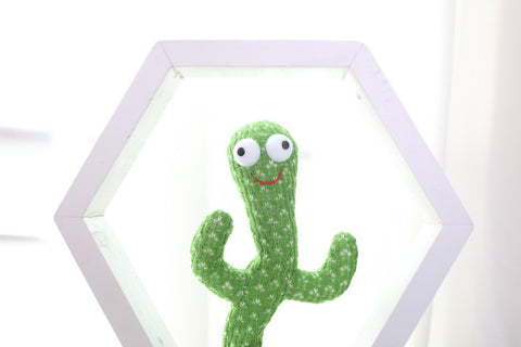 white-hexagon-with-white-background-hot-sale-dancing-cactus-1-pieces-dancing-cactus-green-and-red-smile-big-funny-eyes