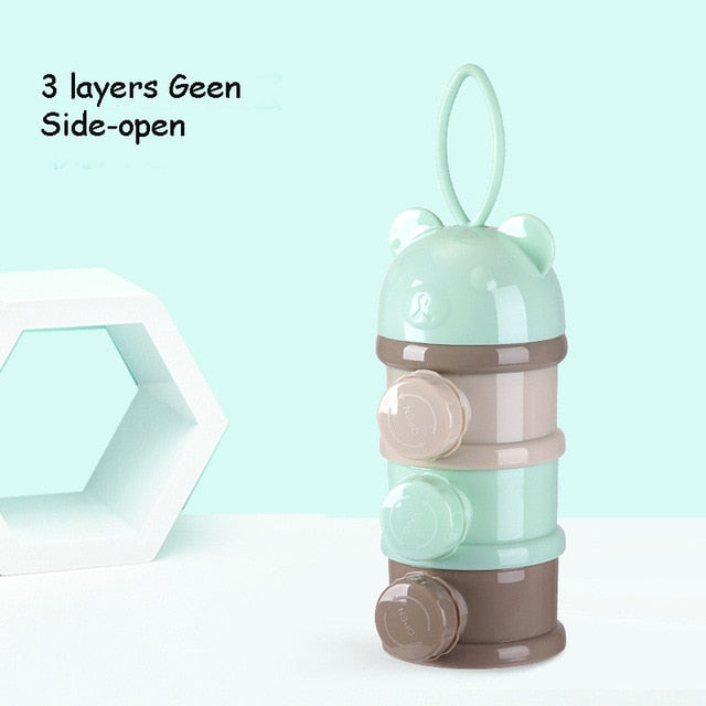 GoBaby-4 Layer Baby Food Storage Container