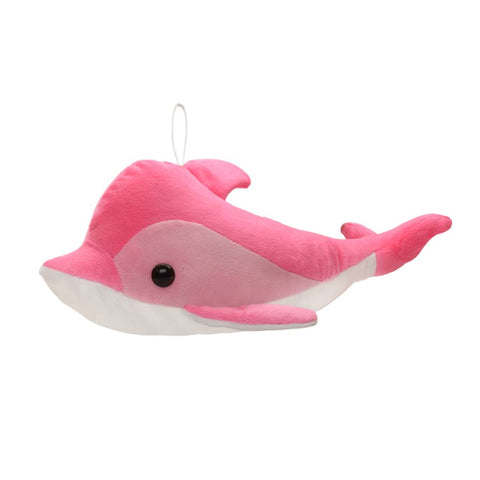 Image of Pink Dolphin Soft Toy  16 Inches