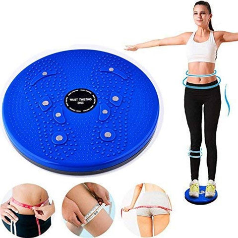 way to fitness Tummy Twister Gym and Home Equipment for Men and Women Maximum Capacity 90 kgs