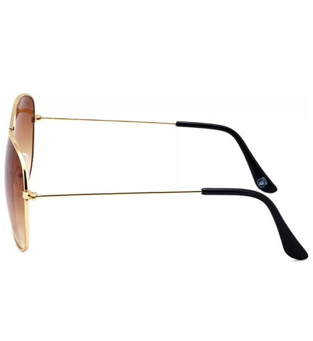 Image of Trendy Brown Aviator Sunglass For Men And Women