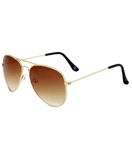 Trendy Brown Aviator Sunglass For Men And Women
