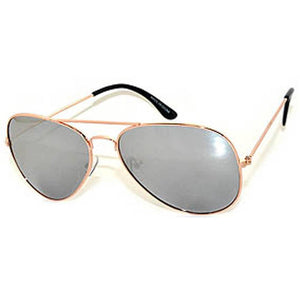 Trendy Silver Aviator Sunglass For Men And Women