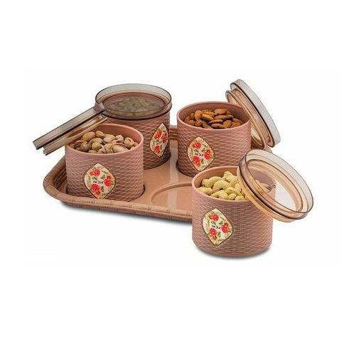 Dry Fruit Set Box With Lid And Serving Tray