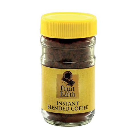 fruit of the earth instant blended coffee