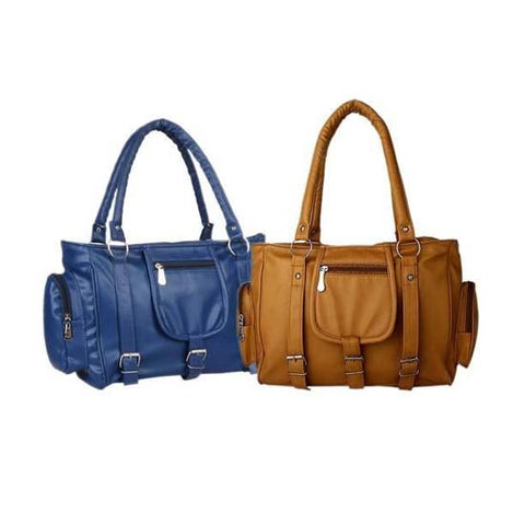 Image of Stylist Women's Hand Bags Combo (Pack Of 2)