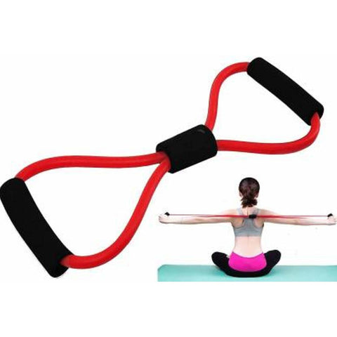 Image of Fitness Stretch Body Toning and Stretching Travel Exercise Tube