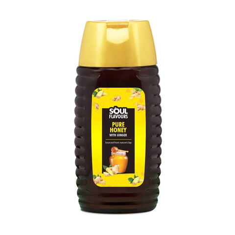 soul flavours honey with ginger