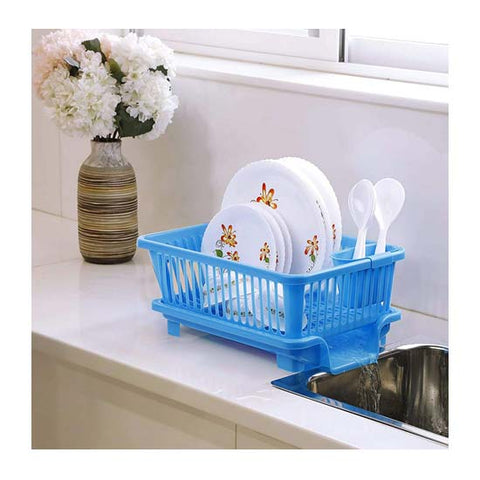 Image of Plastic Kitchen Sink Dish Rack Drainer  (1 Pair)