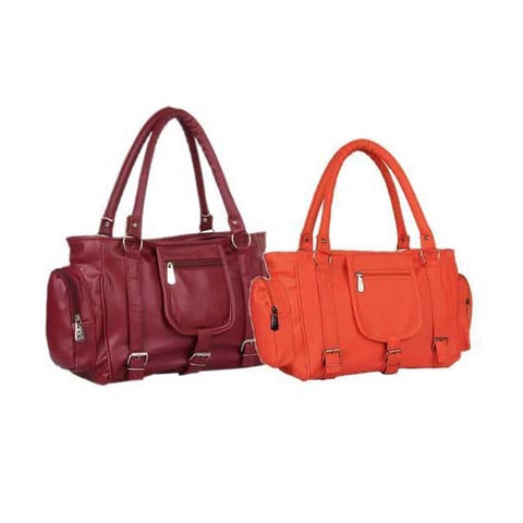 Stylist Women's Hand Bags Combo (Pack Of 2)