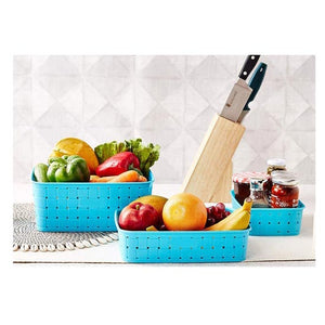 Multipurpose Smart Shelf Basket Set 3 Piece