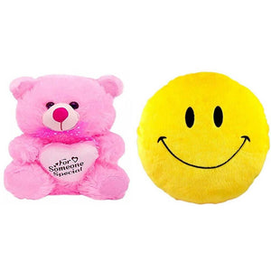 Gift Basket Stuffed Soft Toy With Smiley