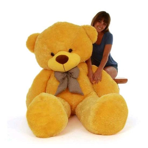 5 Feet Yellow Colour Teddy Bear