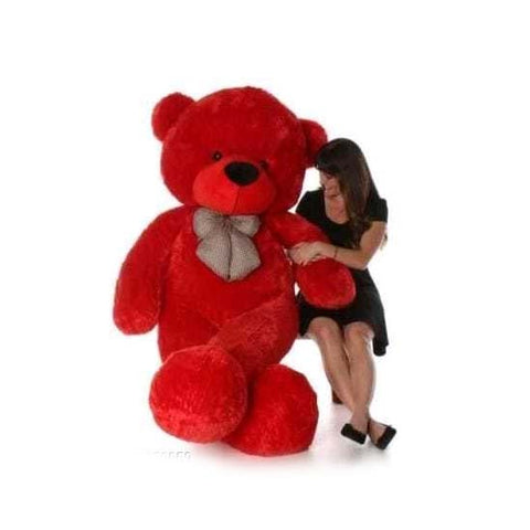 5 Feet Red Colour Teddy Bear