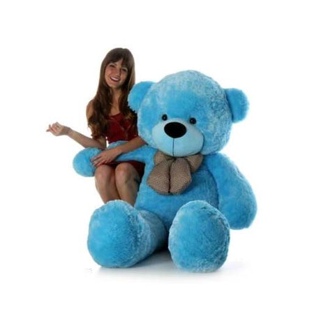 5 Feet Blue Colour Teddy Bear