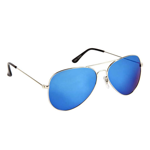 Image of Trendy Blue Aviator Sunglass For Men And Women