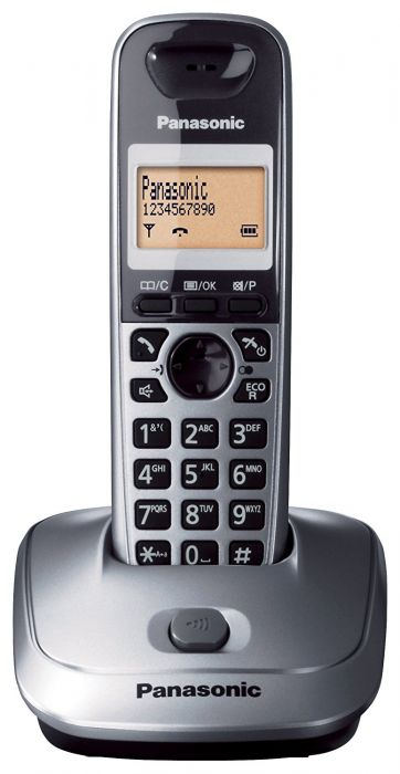 Panasonic KX-TG2511JTM Single Silver Cordless Phone