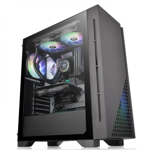 Thermaltake H330 TG Mid Tower Case CA-1R8-00M1WN-00