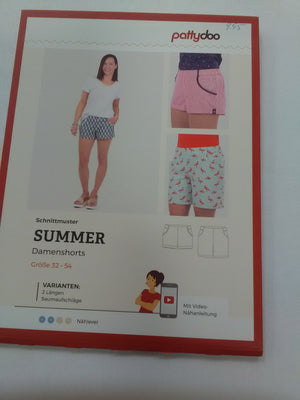 Pattydoo Schnittmuster Summer Short