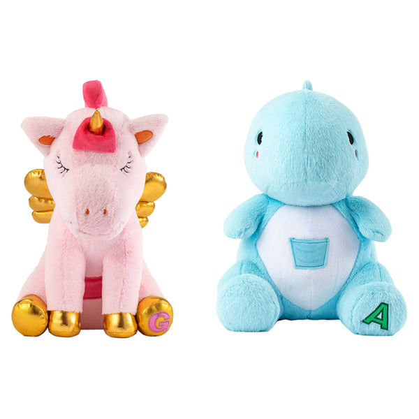 Dinosaur and Unicorn Dream Pet Bundle with Music