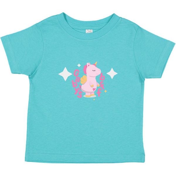 Gaby's Unicorn Bff Tee (Toddler)