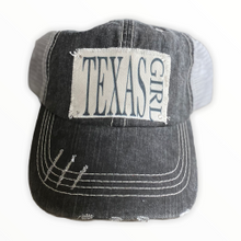 "Load image into Gallery viewer, ""Texas Girl ""Hat"