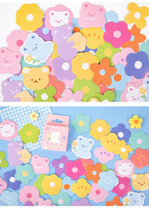 46pcs Boxed Sticker Soft And Cute Bear Series Decorative Stickers for Scrapbooking
