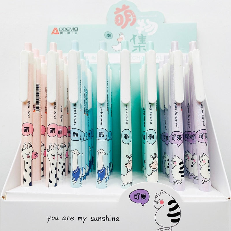 1pcs of Cute Shimmery Animal Mechanical Pencil. Student Kawaii Stationery.