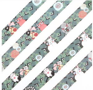 Cute Boxed Kawaii Cat Washi Tape Decorative Tape for Scrapbooks and Journals.