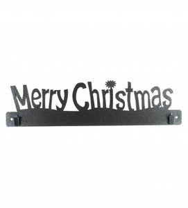 "Merry Christmas 16"" Quilt Holder"
