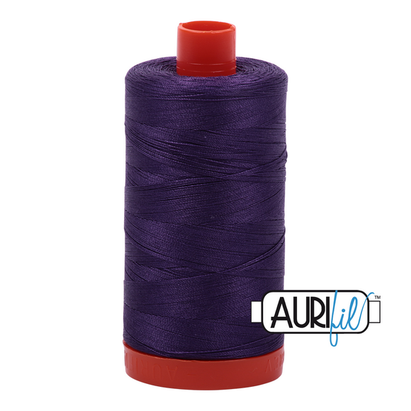Aurifil Mako Cotton Thread 50WT - 4225 Eggplant